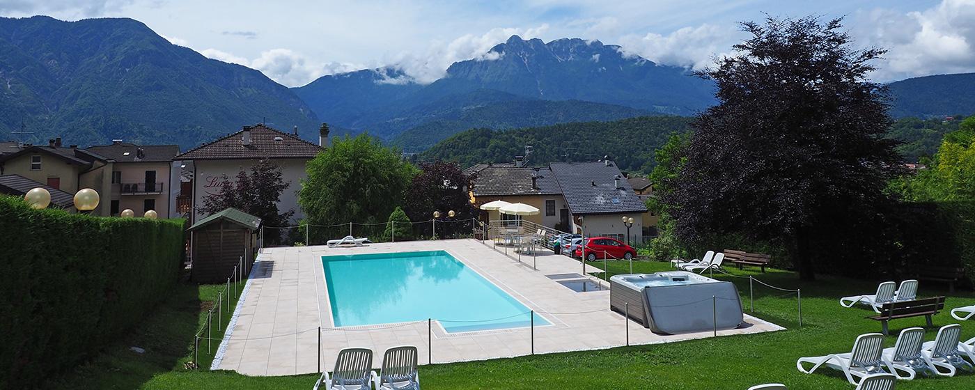 Hotel Lucia Hotel Levico Terme In Centro Con Piscina E